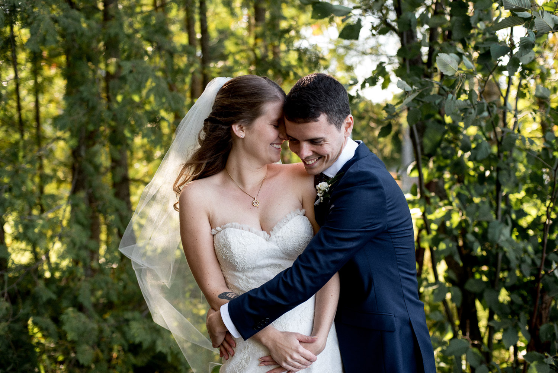 happy cottage wedding