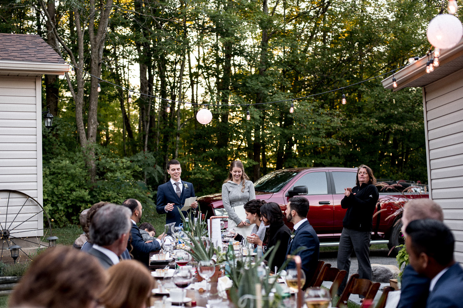 cottage wedding speech