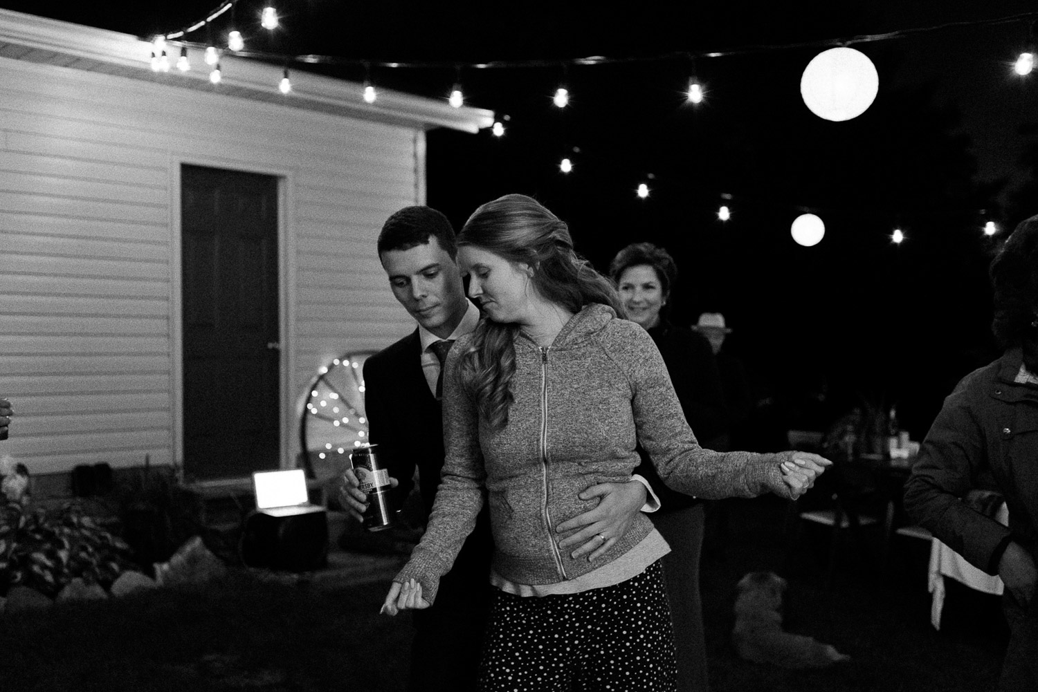 cottage dance party