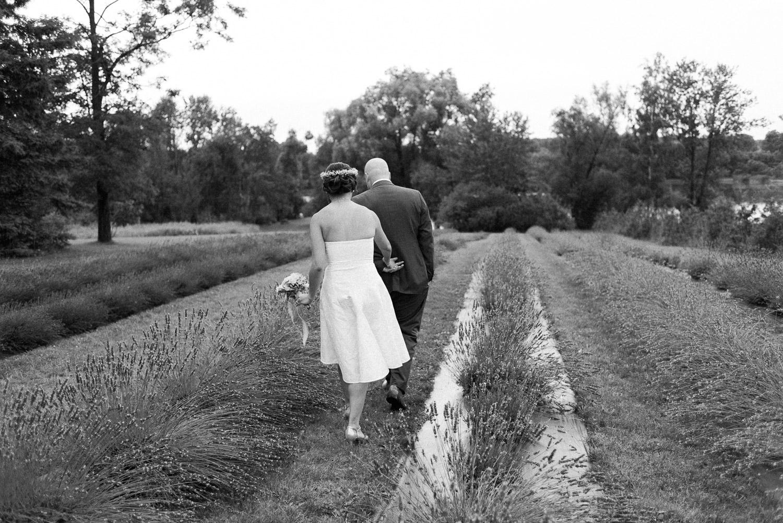 christel lake lavender farm elopement